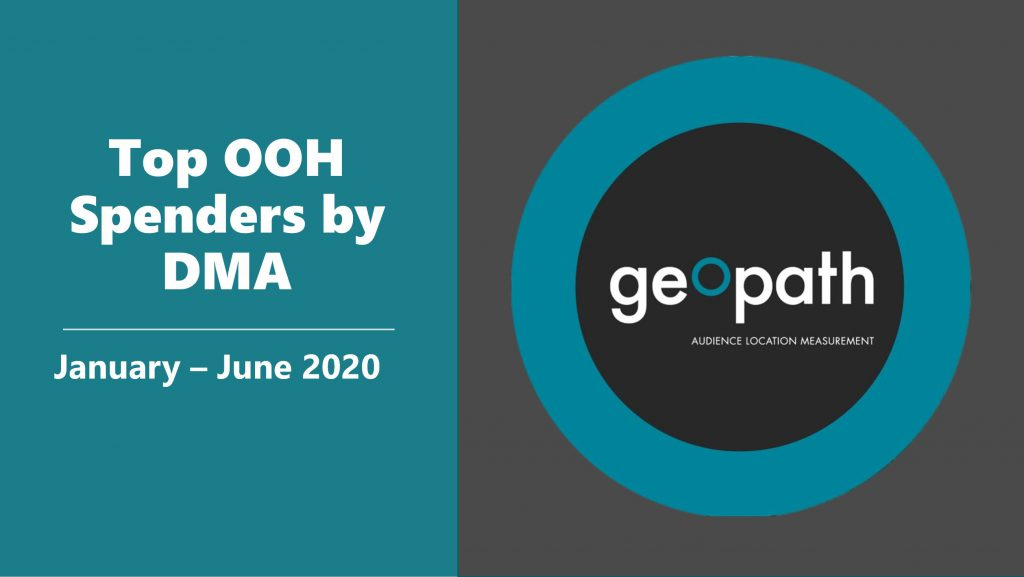 Two New DMA Spending Reports Available in the GeekOUT Library! <br/> <span style='color:#000000;font-size: 18px;'>OOH adspend reports on Q2 and first half of 2020 compiled</span>