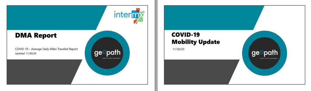 Updated DMA and COVID-19 Mobility Reports | November 30th <br/> <span style='color:#000000;font-size: 18px;'>Refreshed with data through November 22nd.</span>