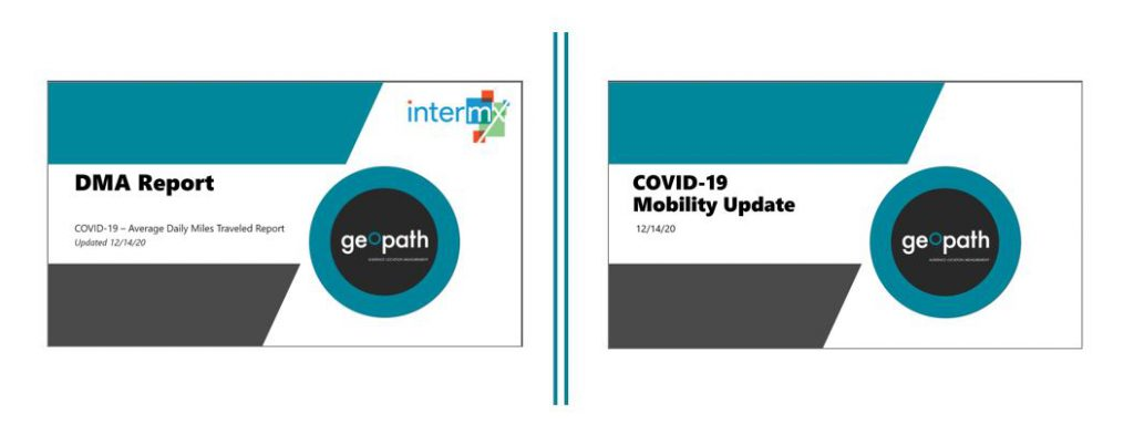 Updated DMA and COVID-19 Mobility Reports | December 14th <br/> <span style='color:#000000;font-size: 18px;'>Refreshed with data through December 6th.</span>